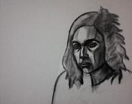 Pašportrets (skice ar ogli)