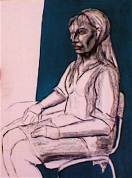 Sievietes portrets - Inga (nodarbība 1)