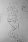 Ģipša figūras zīmējums ( nodarbība 1.)